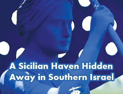 A Sicilian Haven Hidden Away in Southern Israel